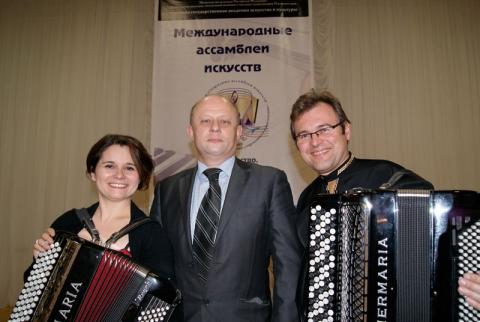 Звездный дуэт «PARIS - MOSCOU» - музыкальное путешествие сквозь призму двух культур