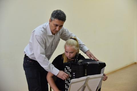 Cостоялись мастер-классы Заслуженного артиста Республики Татарстан Султанова Дамира