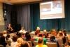 Преподаватель кафедры филологии К. В. Загороднева с докладом на круглом столе «Литература в диалоге с кинематографом»